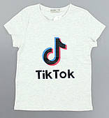Футболка для девочек Tik Tok Glo-Story оптом, 134-164 pp. Артикул: GPO-B0521