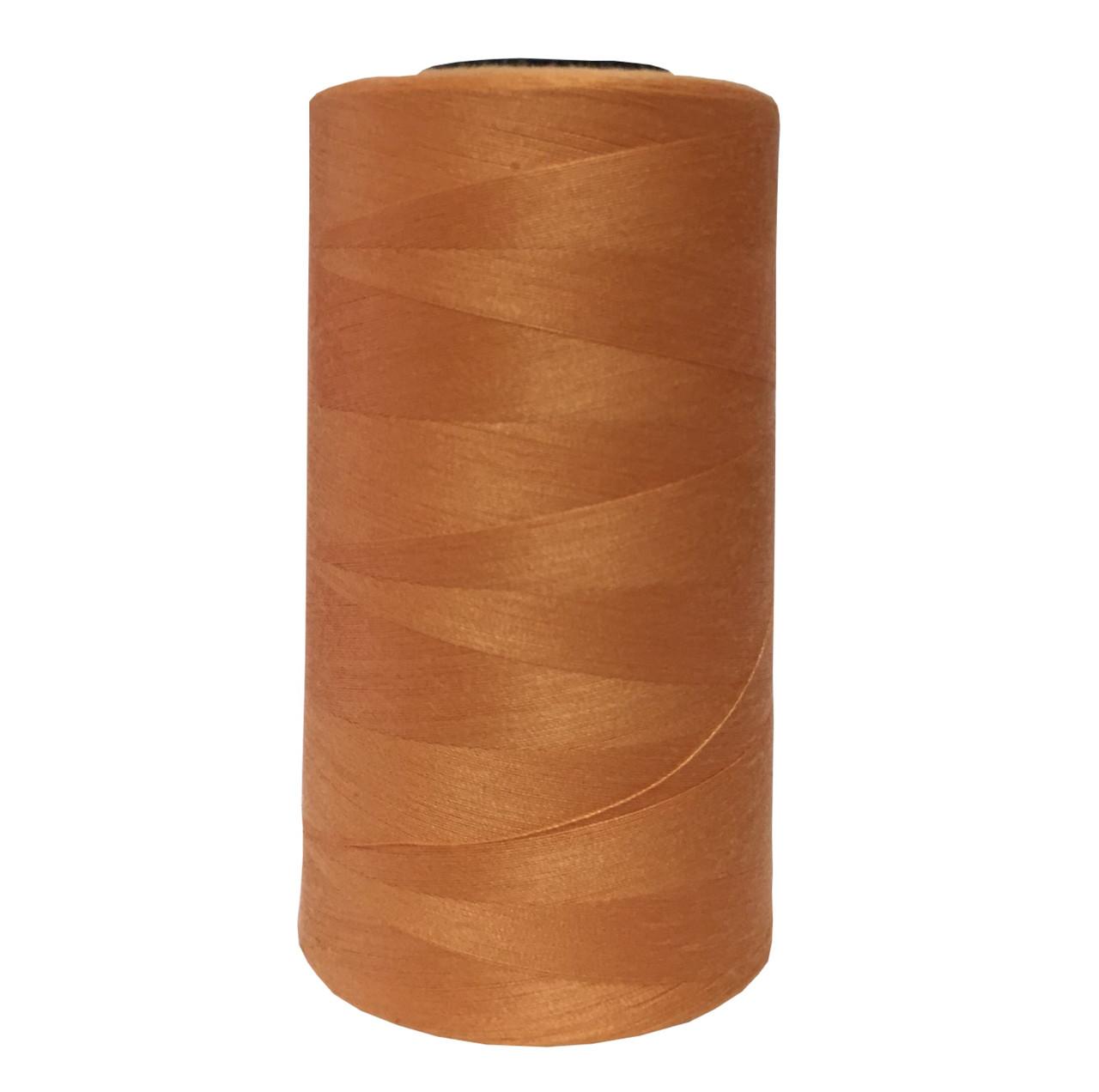 Нитки швейные 50/2 цв.S-043 оранжевый (боб 5000 ярдов) NITEX