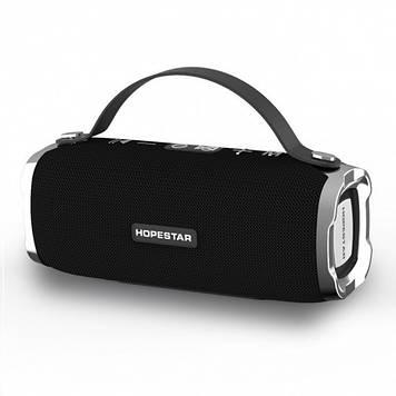 Портативная колонка HopeStar H24 (21*8.5 см) черный. Bluetooth. Беспроводной динамик