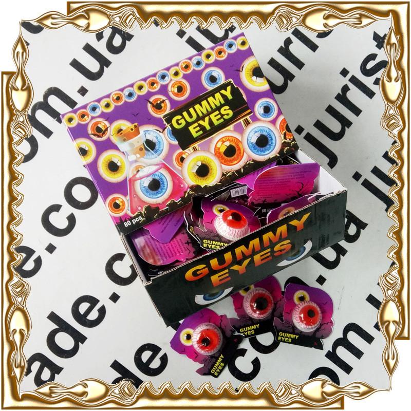 """Желейная конфета """"Желейне Око"""" Gummy Eyes 7 г. 80 шт./уп."""