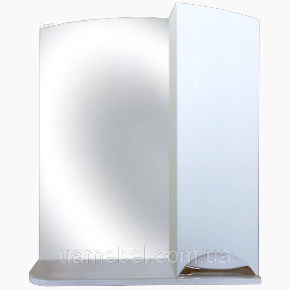 Зеркало в ванную без света З-10 Карина (50-105 см)