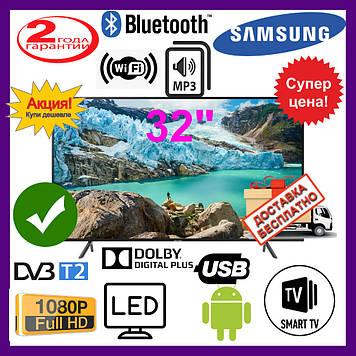 "Телевизор 32"" Samsung Smart TV, IPTV, Wi-Fi, Full HD, LЕD. Самсунг 32 дюйма."