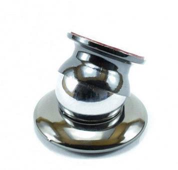 Автомобильный магнитный держатель для мобильного телефона Mobile Bracket (серебро, синий)