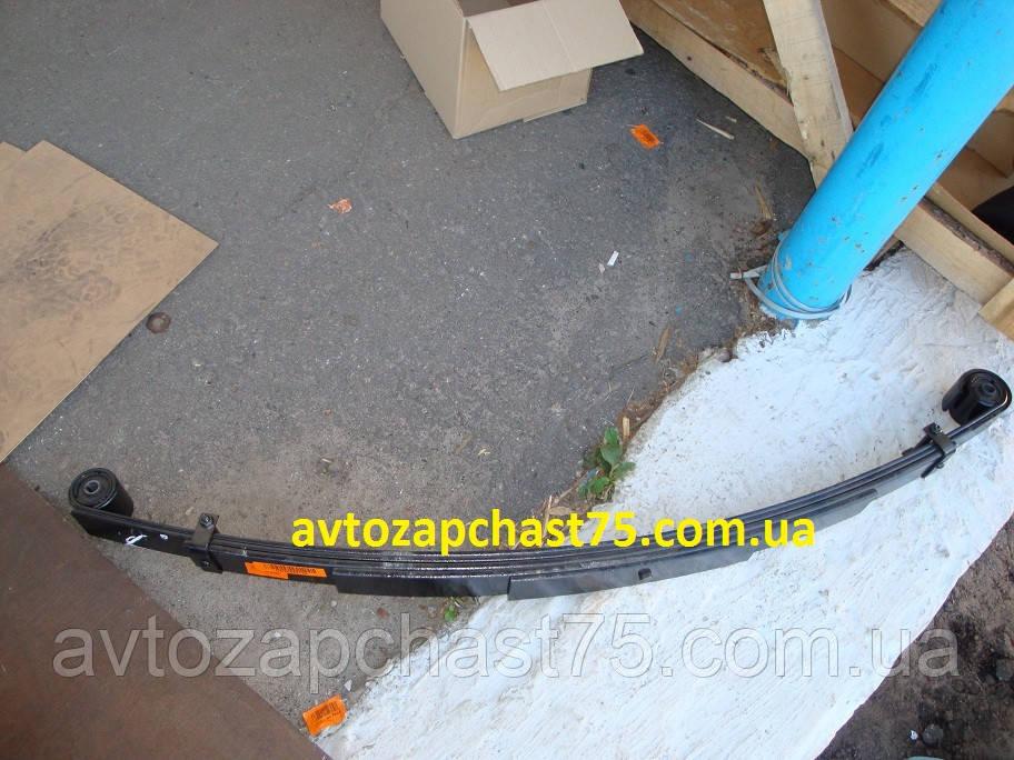 Рессора Газель , Газ 3302 (5-ти листовая) 1588 мм с сайлентблоками (Чуссовский металургический завод, Россия)