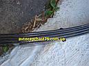 Рессора Газель , Газ 3302 (5-ти листовая) 1588 мм с сайлентблоками (Чуссовский металургический завод, Россия), фото 4