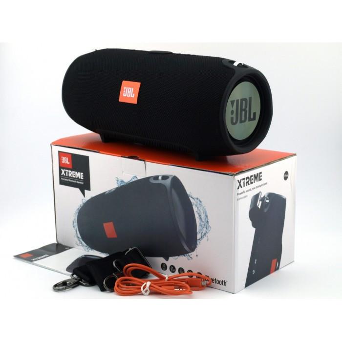 Портативная колонка JBL Xtreme big Черная (Black). Bluetooth колонка жбл экстрим Беспроводная колонка джибиэль