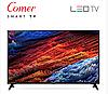 """Телевізор COMER 40"""" Smart TV з плоским екраном. Smart ТБ + Т2. 3D LED рк телевізори, фото 4"""