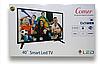 """Телевізор COMER 40"""" Smart TV з плоским екраном. Smart ТБ + Т2. 3D LED рк телевізори, фото 6"""