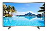 "Телевизор Comer 50"" Smart TV изогнутый + T2 встроенный тюнер E50DM1200. Смарт телевизор Комер Андроид, фото 2"