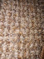 Набор ковриков в ванную и туалет с вырезом  Комфорт бежево-коричневый, 70×50+50×50 мелкий ворс