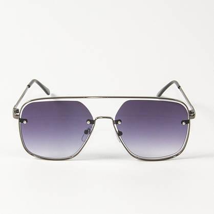 Оптом солнцезащитные квадратные очки (арт. 6249/5) темно-синие, фото 2
