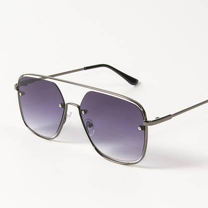 Оптом солнцезащитные квадратные очки (арт. 6249/5) темно-синие, фото 3