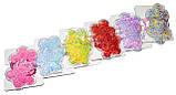 Детские Резинки для волос - цветок (12 наборов), фото 2