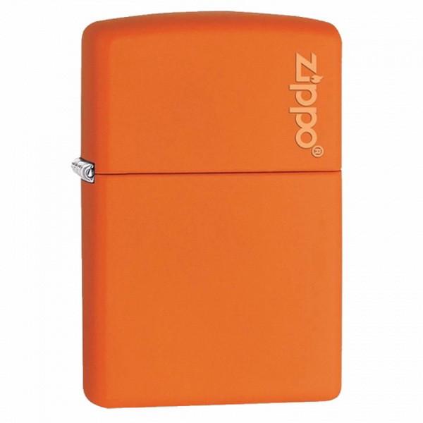 Зажигалка Zippo Orange Matte with Logo, 231ZL