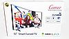 Телевізор COMER 32 Smart + T2 E32DU1000 Вигнутий. Smart TV багатофункціональний, фото 8