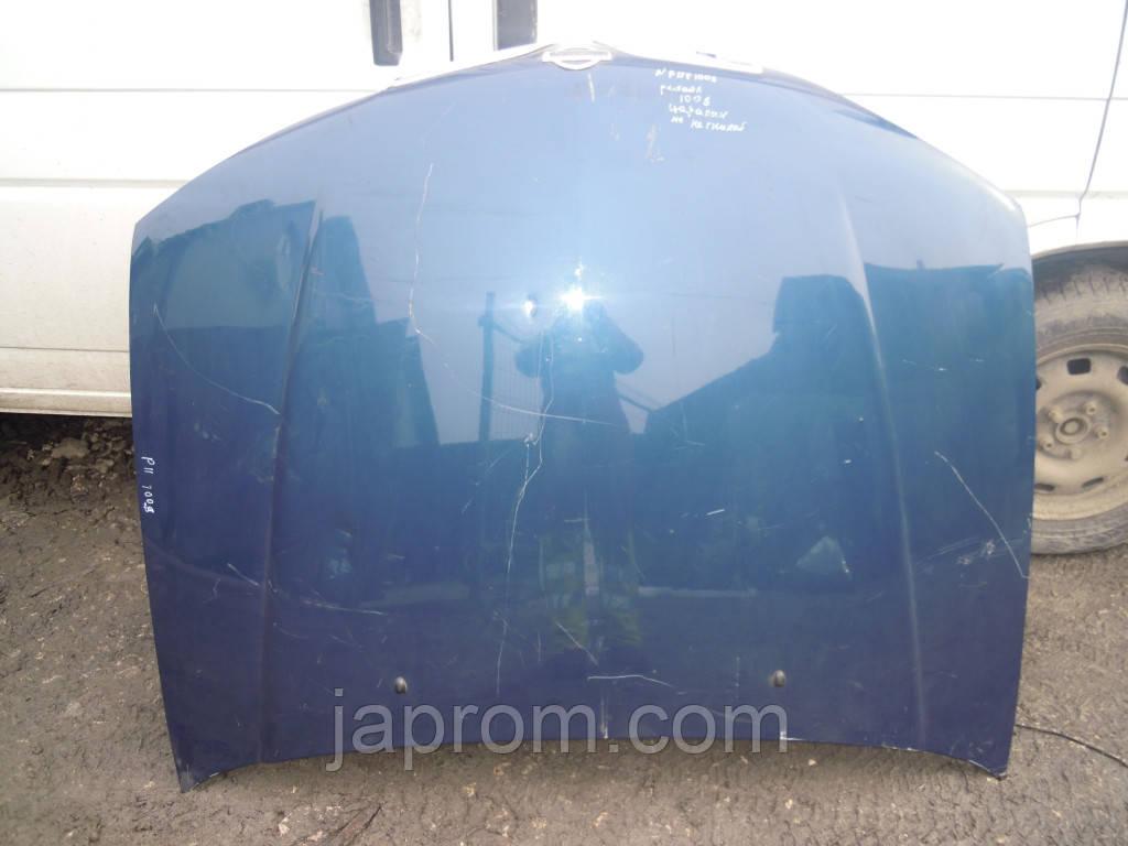 Капот Nissan Primera 11 1996-2001г.в рестайл синий
