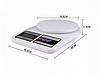 Кухонные весы SF-400 > 7 кг. Весы электронные кухонные до 7 кг.SF400 от 2*ААА, фото 5