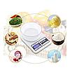Кухонные весы SF-400 > 7 кг. Весы электронные кухонные до 7 кг.SF400 от 2*ААА, фото 8