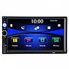 Автомагнітола 7010G 2 Din GPS-навігатор коротка база. Автомобільні mp3 магнітоли. Автомагнітола піонер 2дин, фото 2