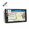 Автомагнітола 7010G 2 Din GPS-навігатор коротка база. Автомобільні mp3 магнітоли. Автомагнітола піонер 2дин, фото 6