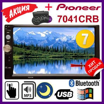 "Автомагнитола 2Din Pioneer 7041CRB Магнитола 7"" Экран. Магнитолы пионер 2 дин"