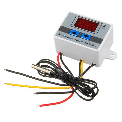 Терморегулятор XH-W3001 термостат цифровой с выносным датчиком 12В 120Вт