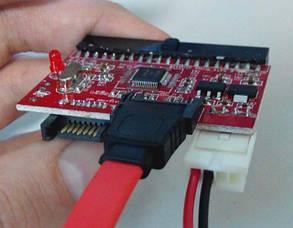 Переходник IDE-to-SATA или SATA-to-IDE, фото 2