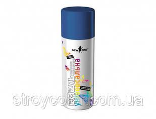 Эмаль-спрей Стандартная синяя RAL 5010 универсальная New Ton 400мл (Краска аэрозольная ньютон newton)
