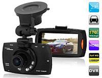 Автомобільний відеореєстратор з диспеєм та датчиком руху DVR G30 Full HD 1080 P.
