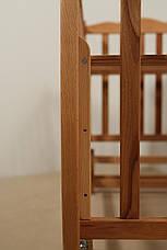 Кровать «NATALI» на подшипниках с откидной боковиной (600 * 1200) (Бук), фото 2