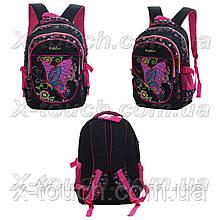 Дитячий рюкзак, ранець непромокальний Good mood 61828, чорний.