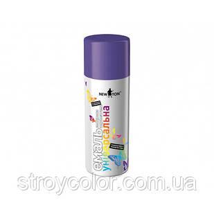 Эмаль-спрей Фиолетовая RAL 4005 универсальная New Ton 400мл (Краска аэрозольная ньютон newton)