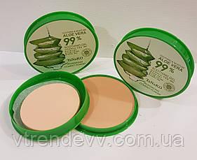 Компактная пудра Tanako Natural Aloe Vera 99 % с экстрактом алоэ вера