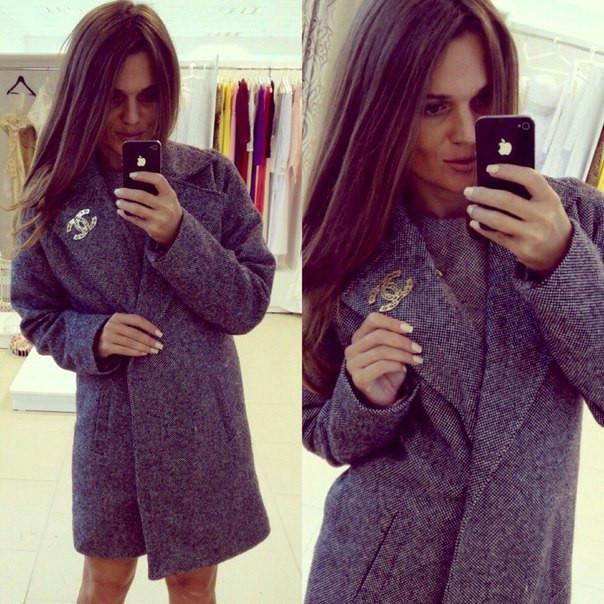 56617a7df2bc Пальто шанель - Aleksa - интернет-магазин женской одежды оптом и в розницу в  Украине