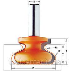 Фреза СМТ 47.6x28.5,66.6x12 для скрытых мебельных ручек, фото 2