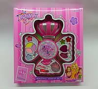 Декоративная детская косметика Корона, 3 яруса, тени, помады, блеск для губ