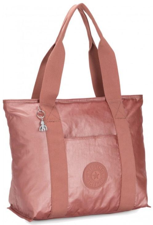 Сумка женская Kipling Basic Plus, розовая
