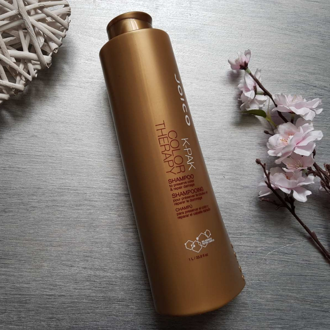 Шампунь восстанавливающий для окрашенных волосJoico K-pak color therapy shampoo 1000 мл