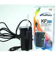 Фільтр внутрішній KW Zone Dophin KF-200, 180 л/год для акваріумів до 40 літрів