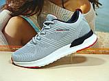 Мужские кроссовки BaaS Running - 2 светло-серые 42 р., фото 3