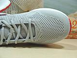 Мужские кроссовки BaaS Running - 2 светло-серые 42 р., фото 9
