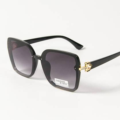 Оптом женские солнцезащитные квадратные очки (арт. 33708/2) черные, фото 3