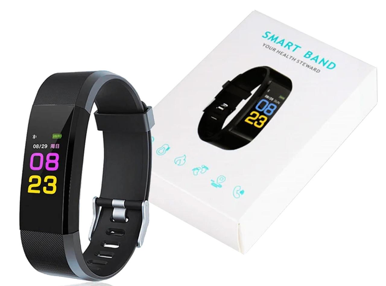 Фитнес браслет Smart Band ID115 Черный
