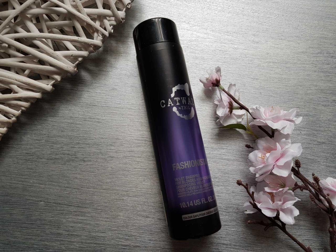Фиолетовый Шампунь для блондинок TIGI Catwalk Fashionista Violet Shampoo 250мл