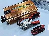 Качественный Инвертор 1000W, преобразователь постоянного тока UKC, чистая синусоида, 12V-220V