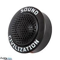 Автоакустика Kicx Sound Civilization T26 твитер