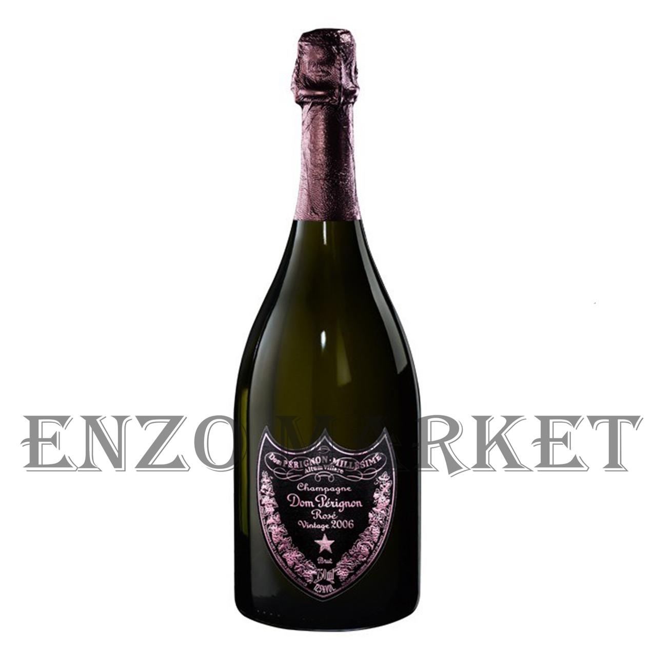 Шампанское Dom Perignon Rose Brut Vintage 2006 Luminous (Дом Периньон Розовое с подсветкой) 12.5%, 0,75 литра