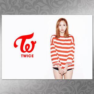 Плакат K-Pop Twice