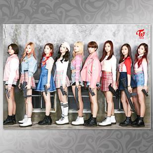 Плакат K-Pop Twice 004