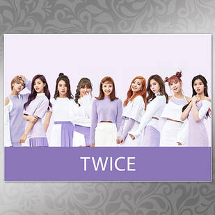 Плакат K-Pop Twice 005